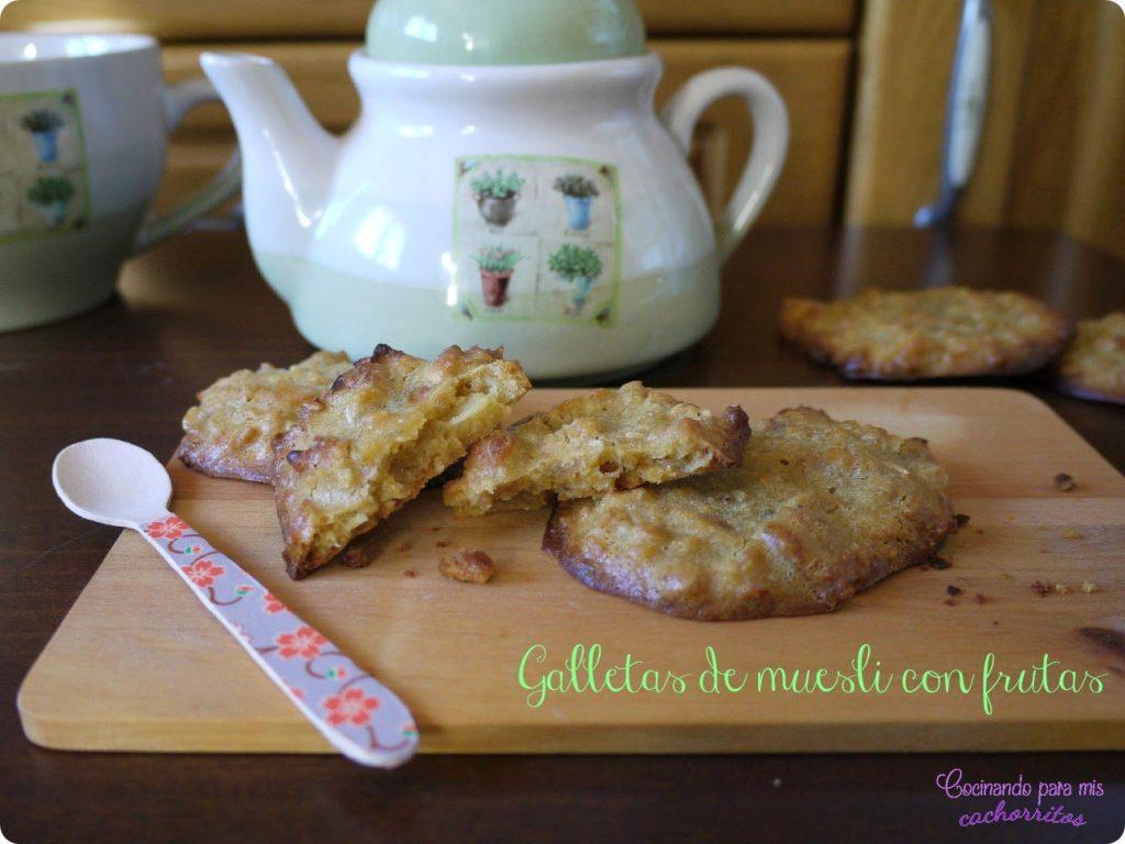 galletas de muesli