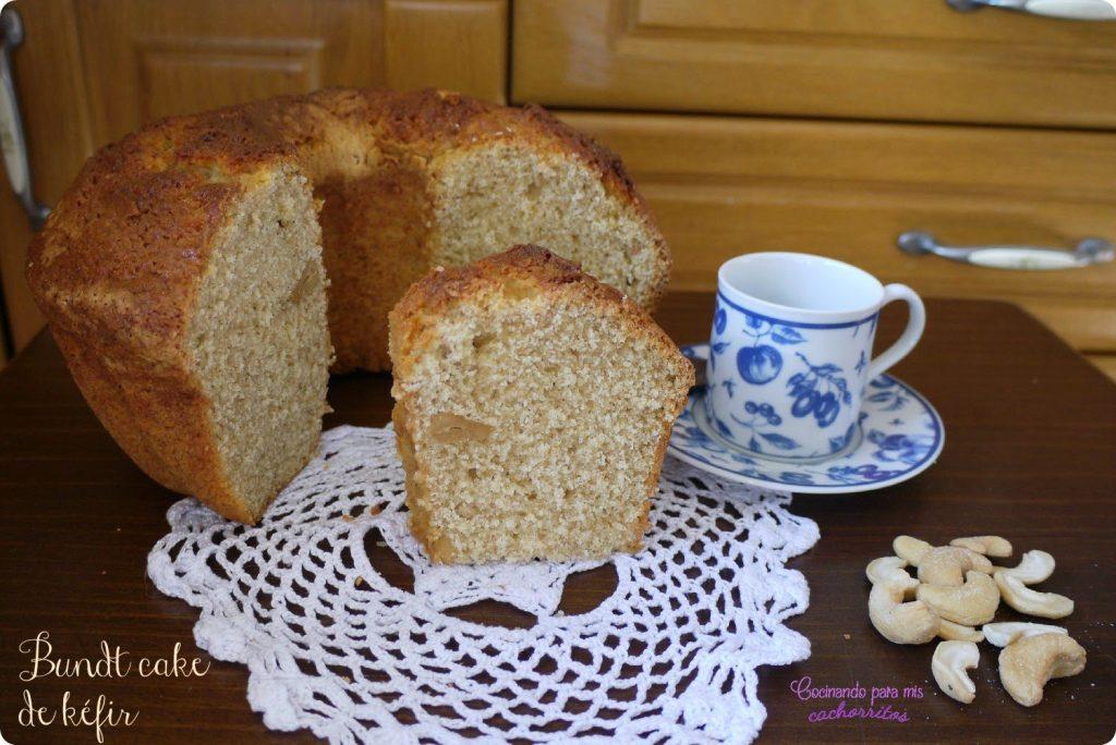 Bundt cake semi integral de kefir