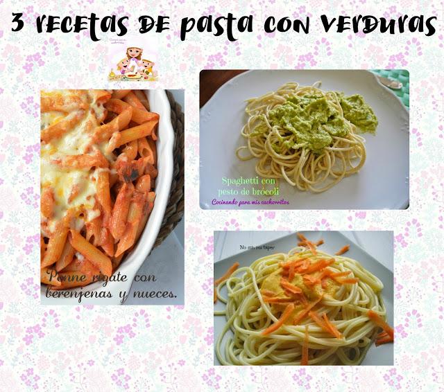 recetas de pasta con verduras