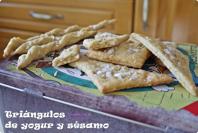 galletas saladas de yogur