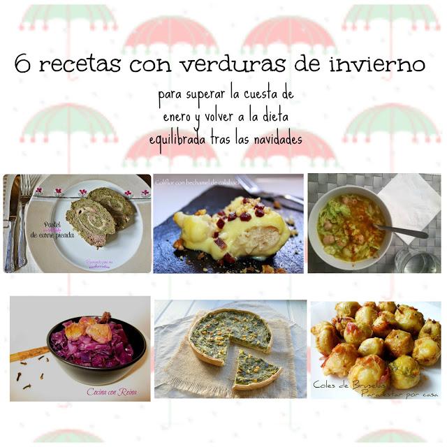 6 recetas con verduras de invierno