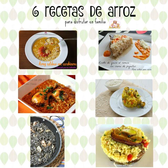 6 recetas de arroz
