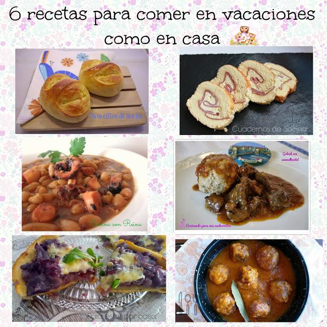 recetas para comer en vacaciones como en casa cocinando