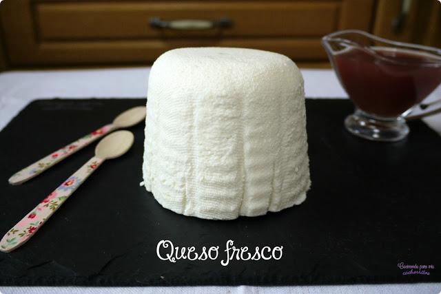 Receta de queso fresco en thermomix
