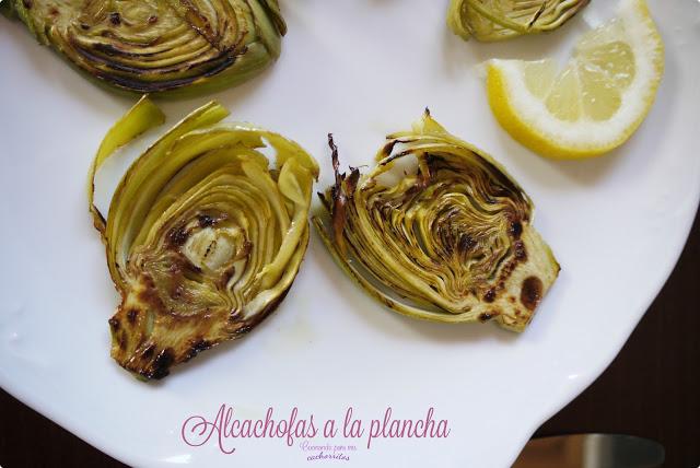 Alcachofas a la plancha