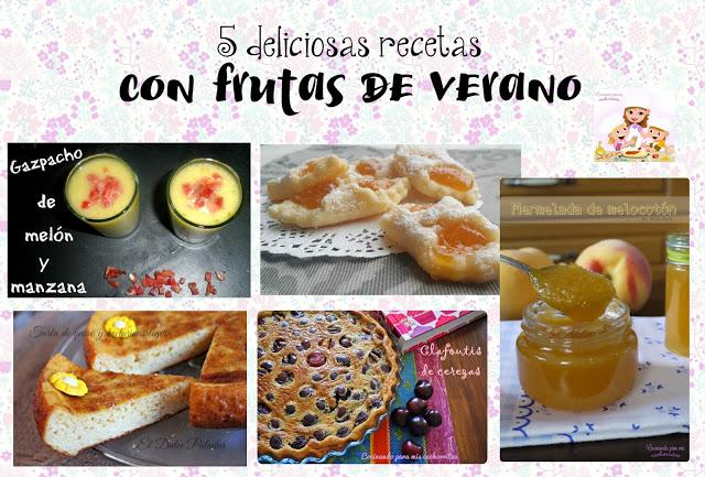 recetas con frutas de verano