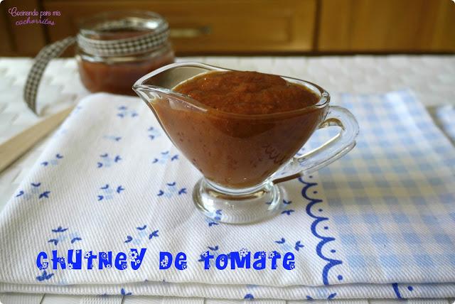 chutney de tomatitos cherry