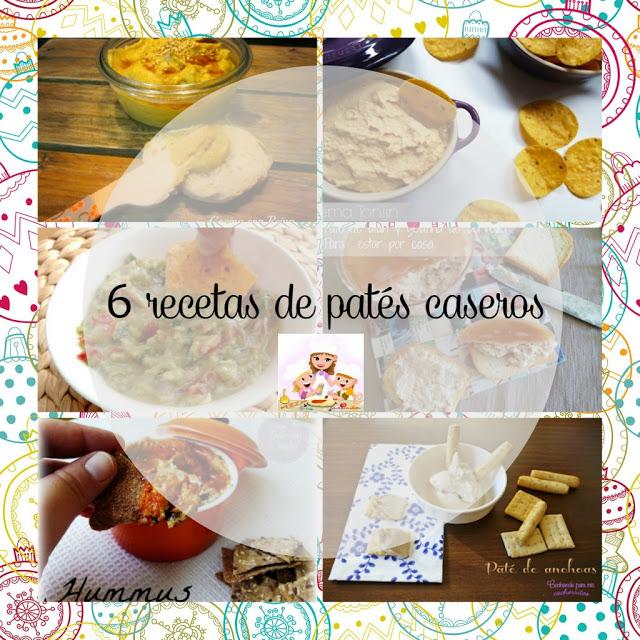 6 recetas de patés caseros