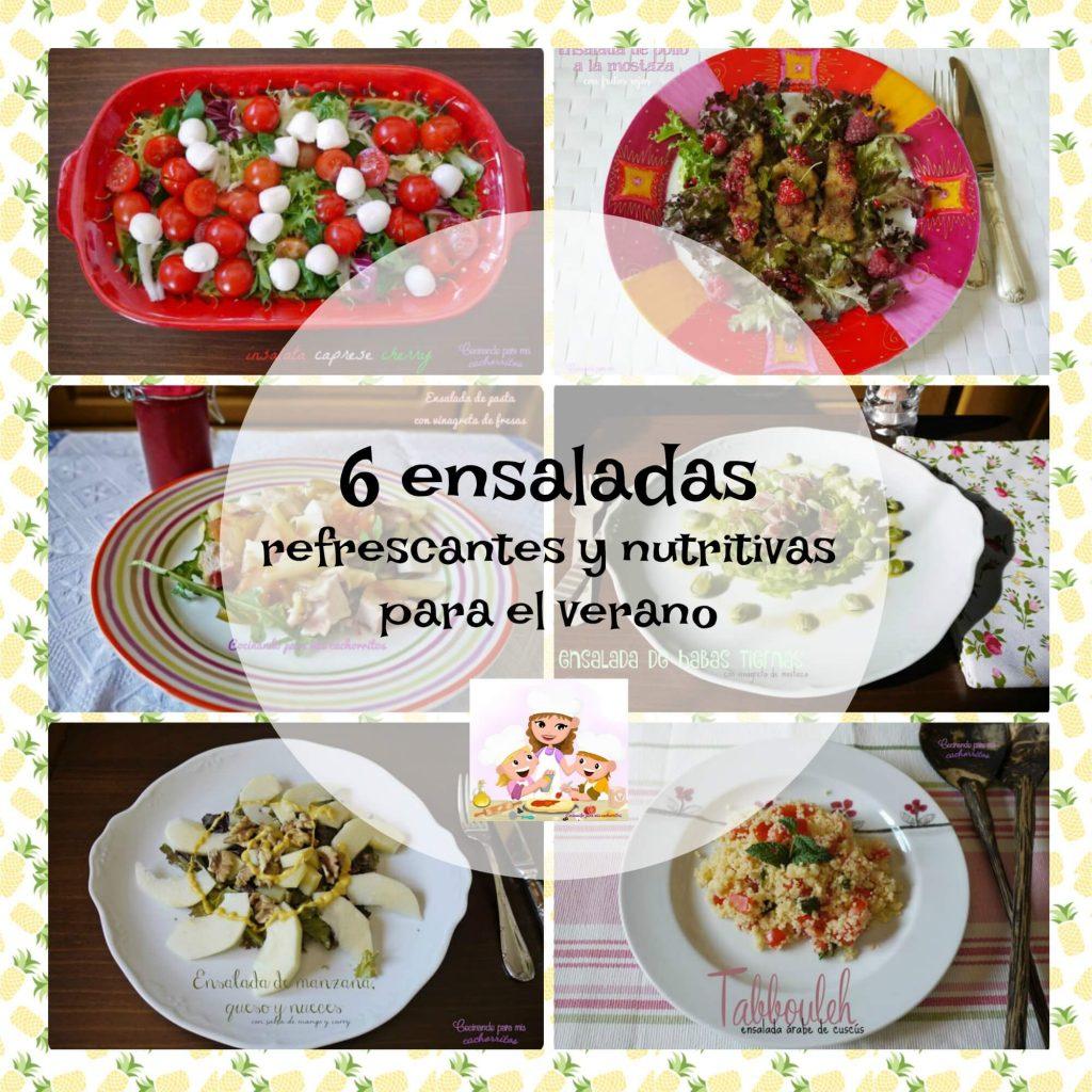 6 recetas de ensalada