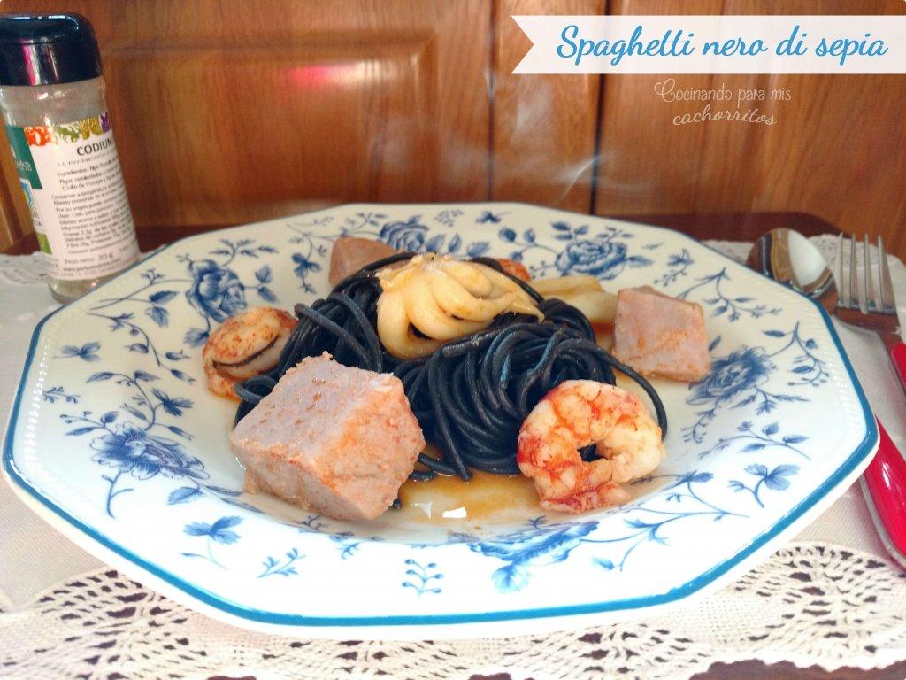 espaguetis nero di sepia