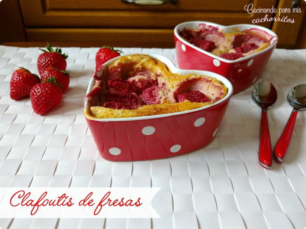 clafoutis de fresas