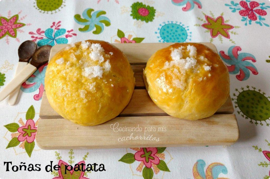 Toñas de patata o panquemaos