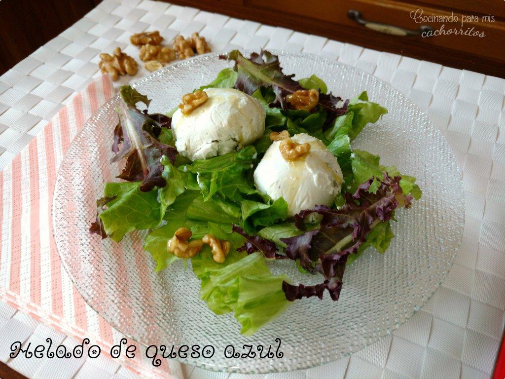 helado de queso azul
