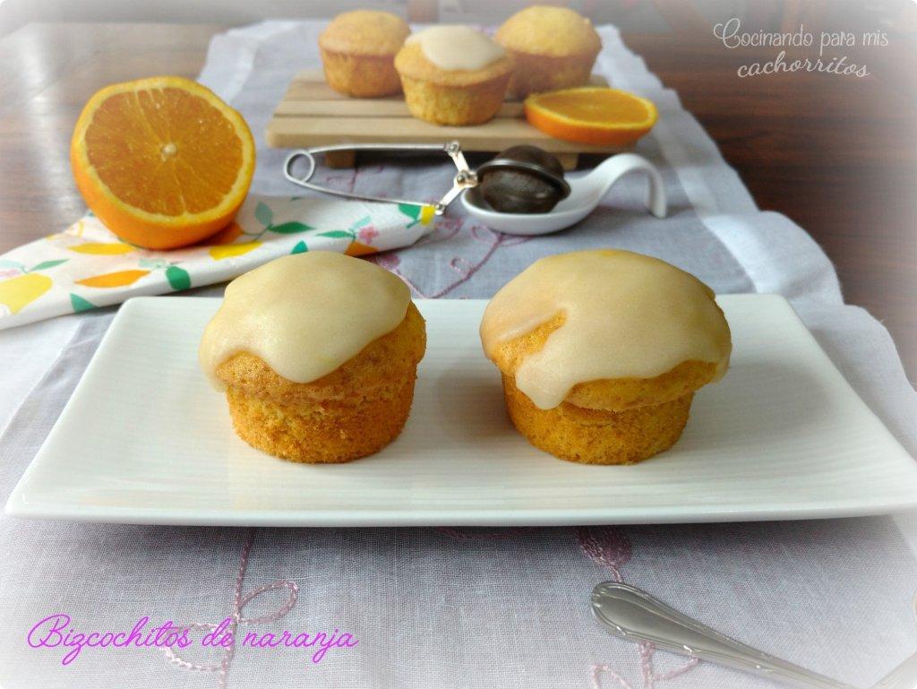 bizcochitos de naranja