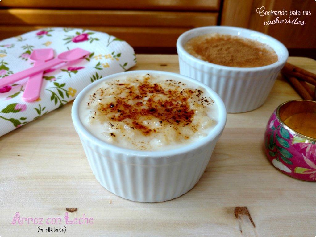 arroz con leche en crockpot