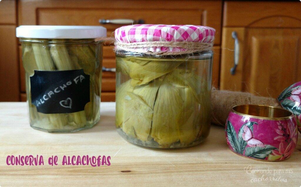 alcachofas en conserva