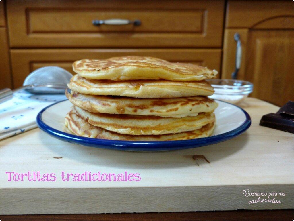 tortitas tradicionales {pancakes}