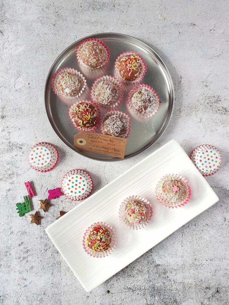 cake pops de galleta