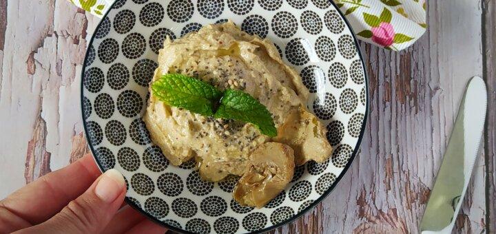 Hummus de alcachofas