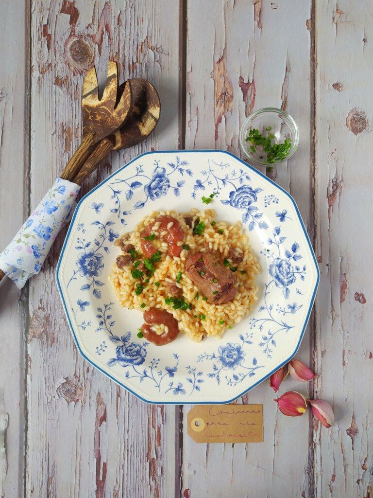 risotto de rabo de ternera