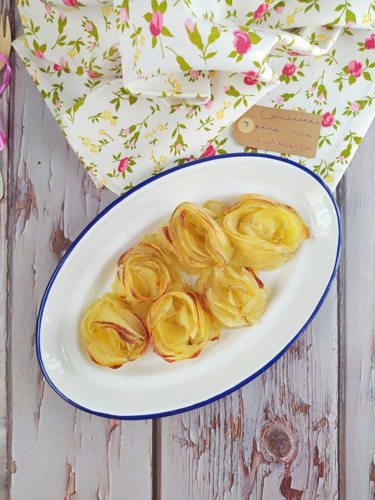 Rosas de patata
