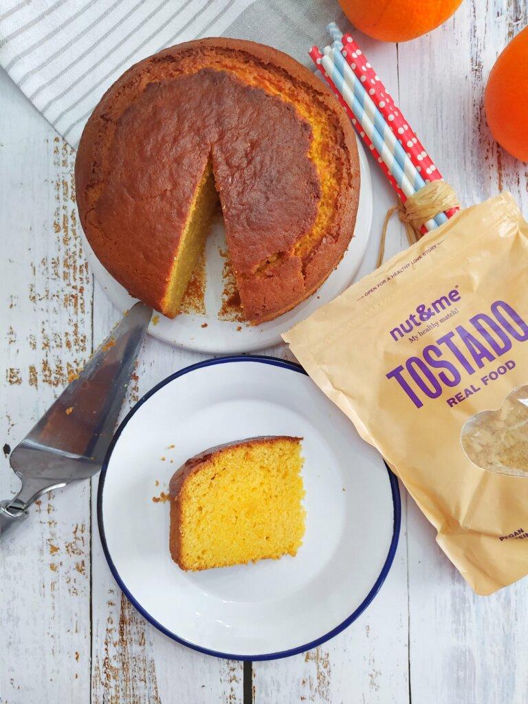 Loaf cake de almendra y naranja