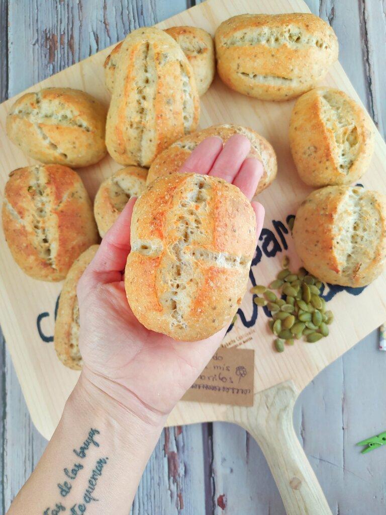 Panecillos de avena para el desayuno