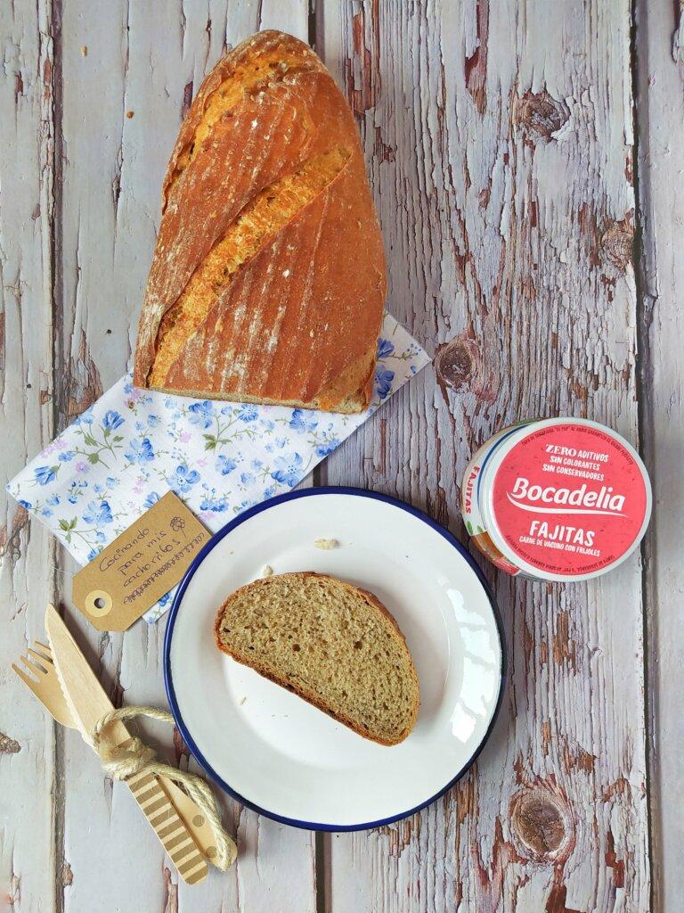 Bocadelia fajitas con pan deli