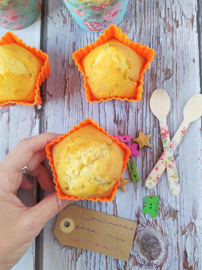 muffins harina espelta